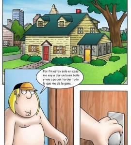 Hentai Porno - Chris Griffin Folla a su Hermana Meg en Casa - comics-porno-xxx